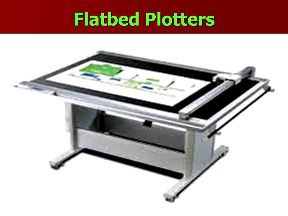 Flatbed Plotters