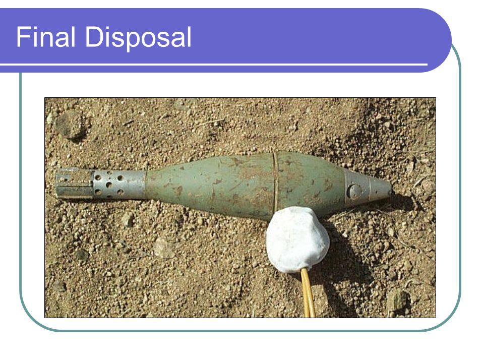 Final Disposal