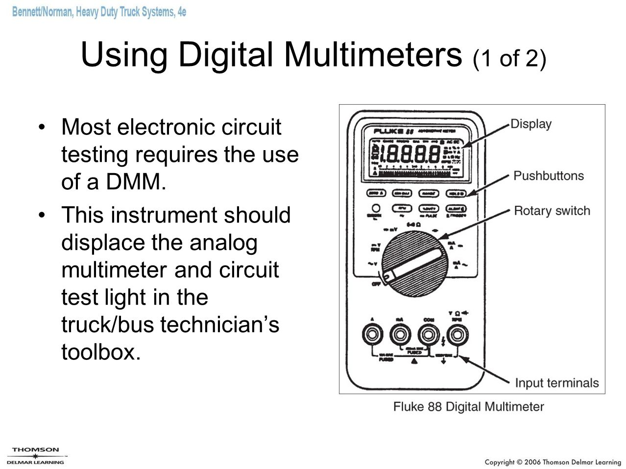 Using Digital Multimeters (1 of 2)