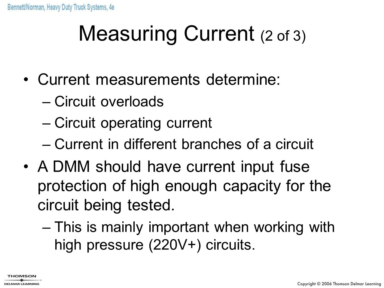Measuring Current (2 of 3)