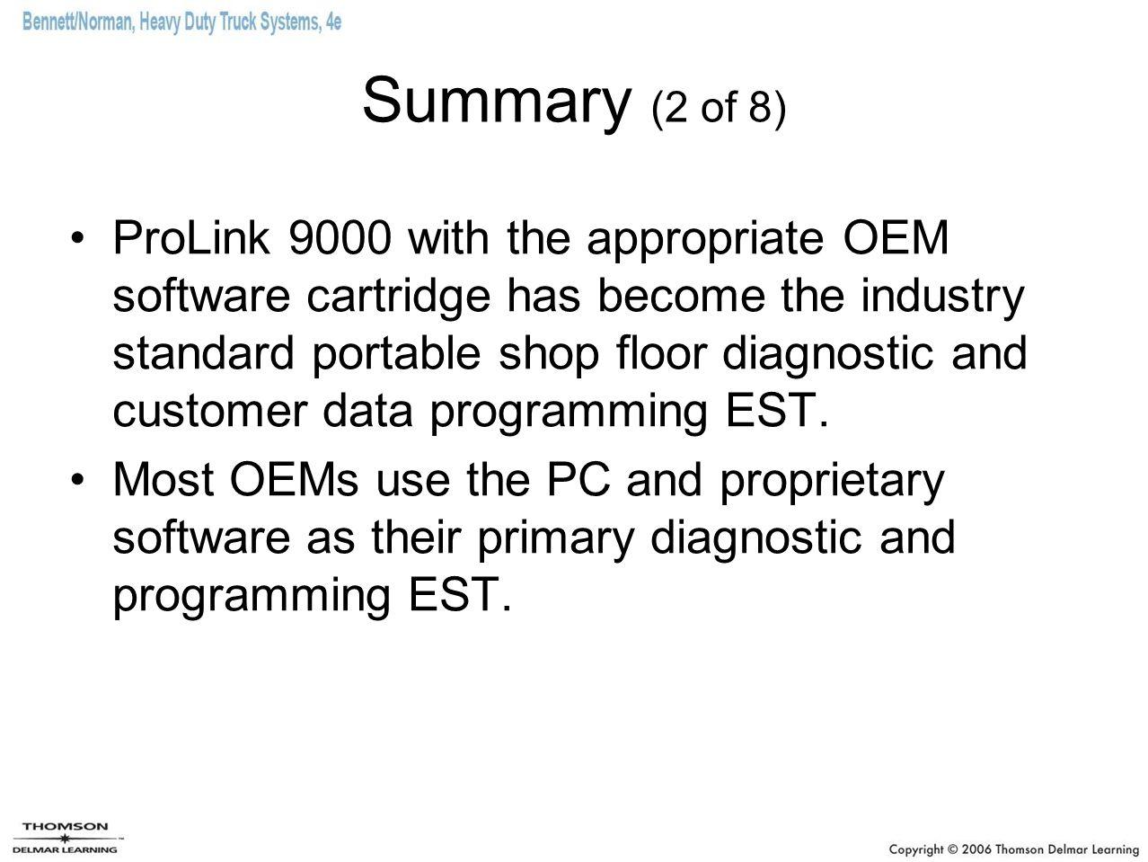 Summary (2 of 8)