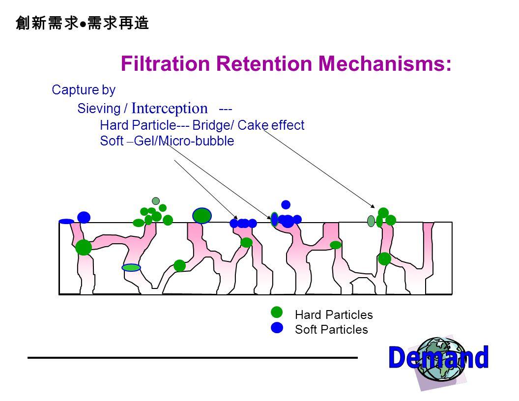 Filtration Retention Mechanisms: