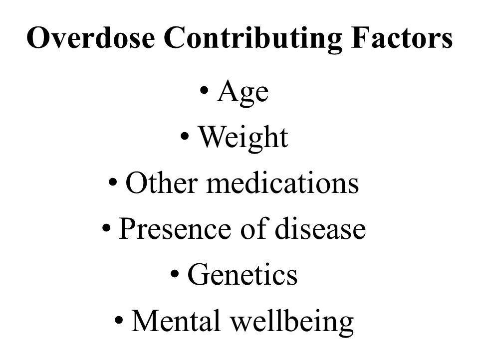 Overdose Contributing Factors
