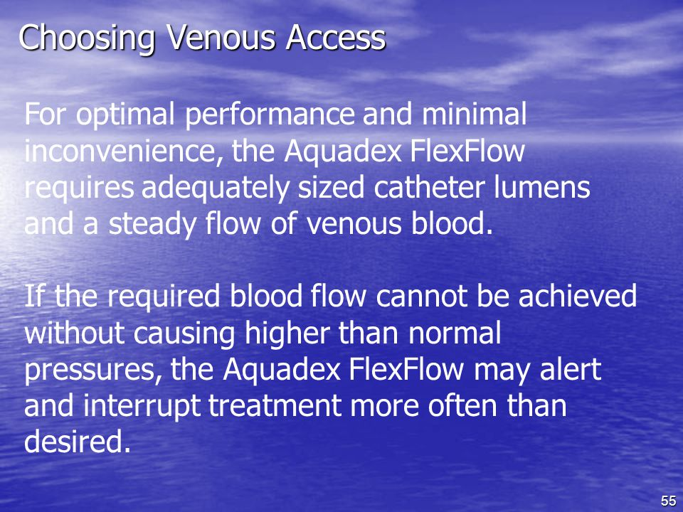 Choosing Venous Access