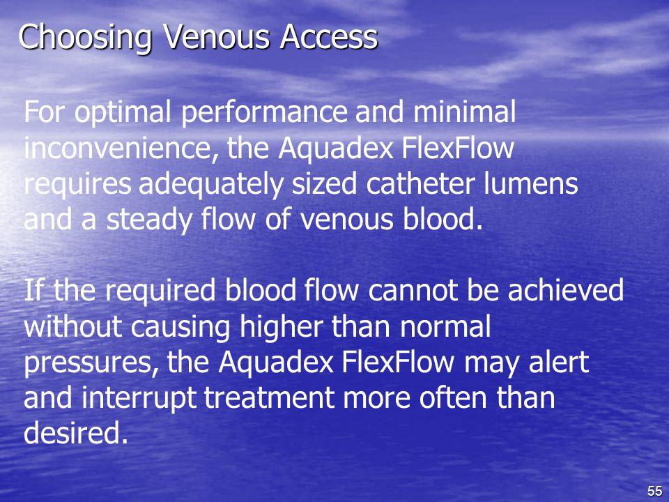 Choosing Venous Access