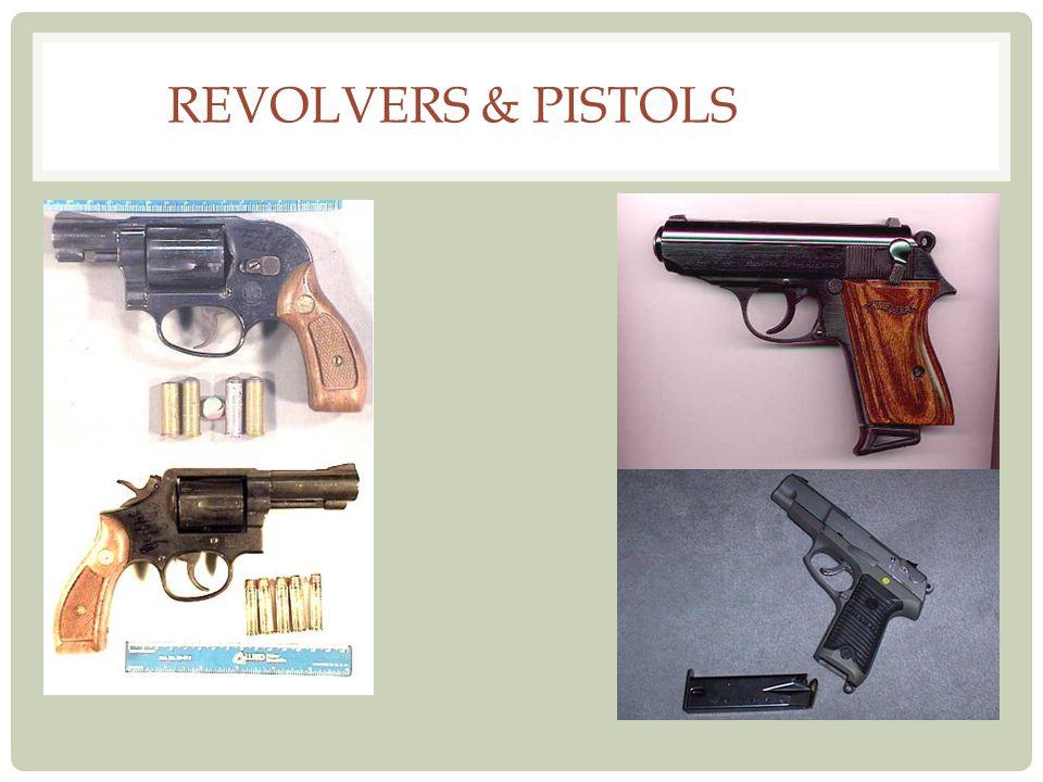 Revolvers & Pistols