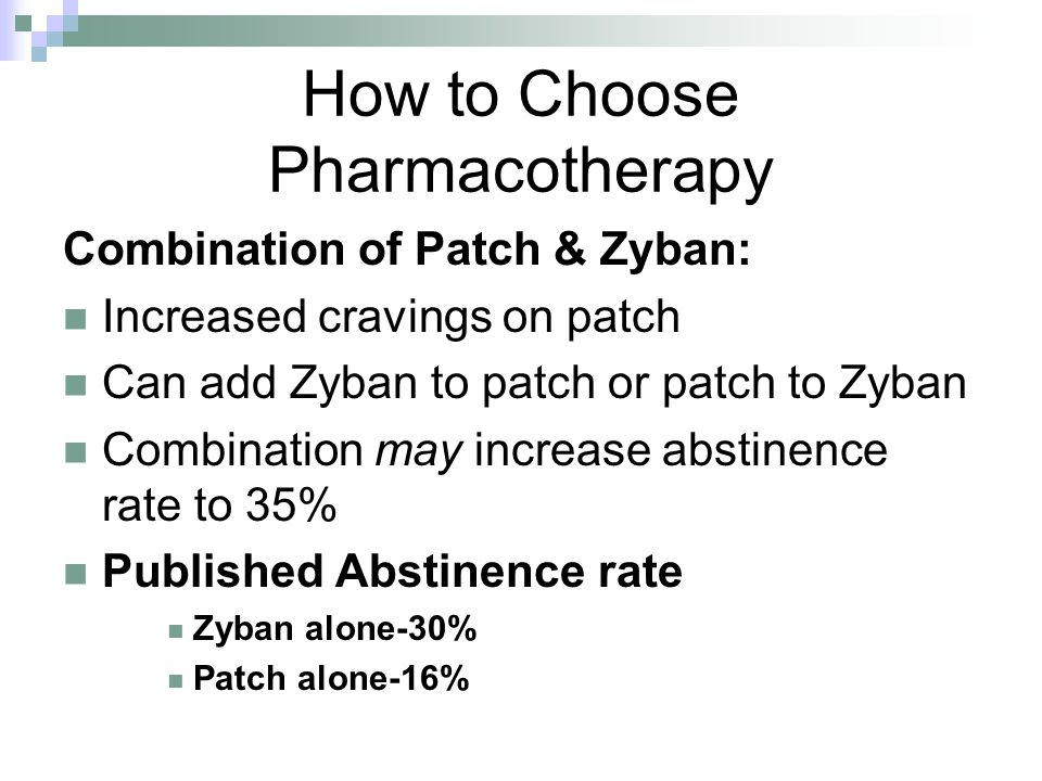 How to Choose Pharmacotherapy