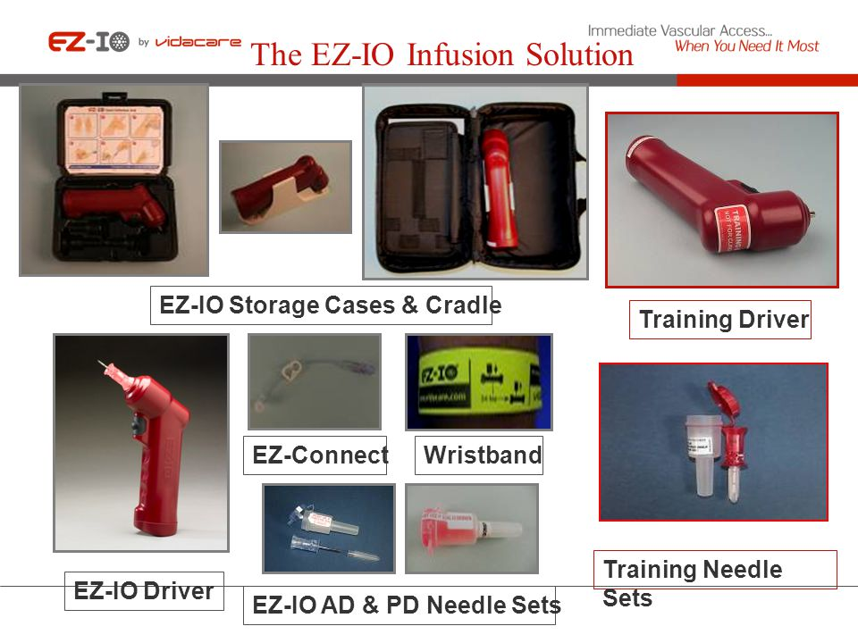 The EZ-IO Infusion Solution