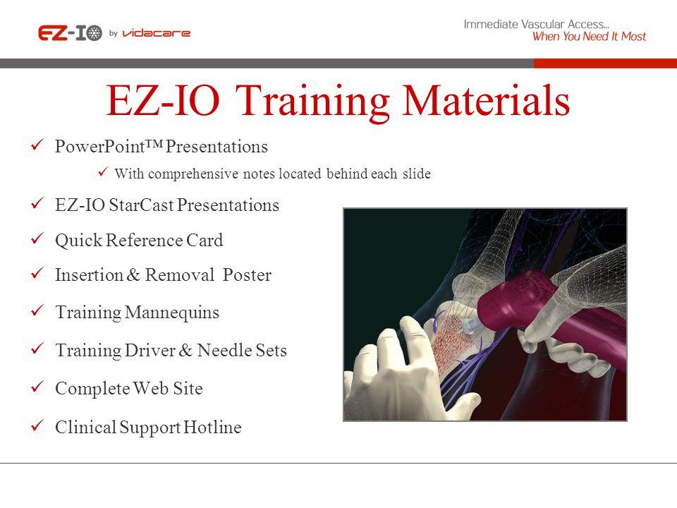 EZ-IO Training Materials