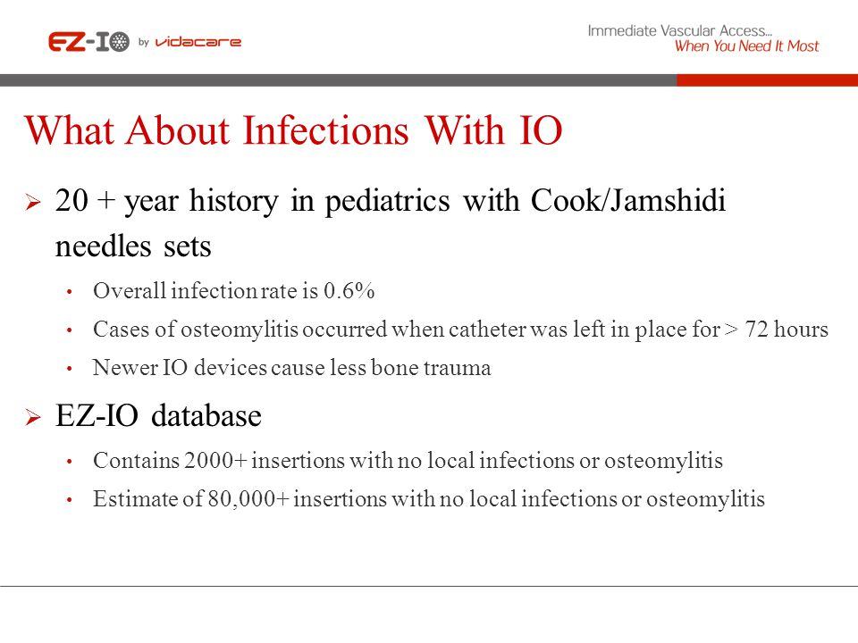 What About Infections With IO