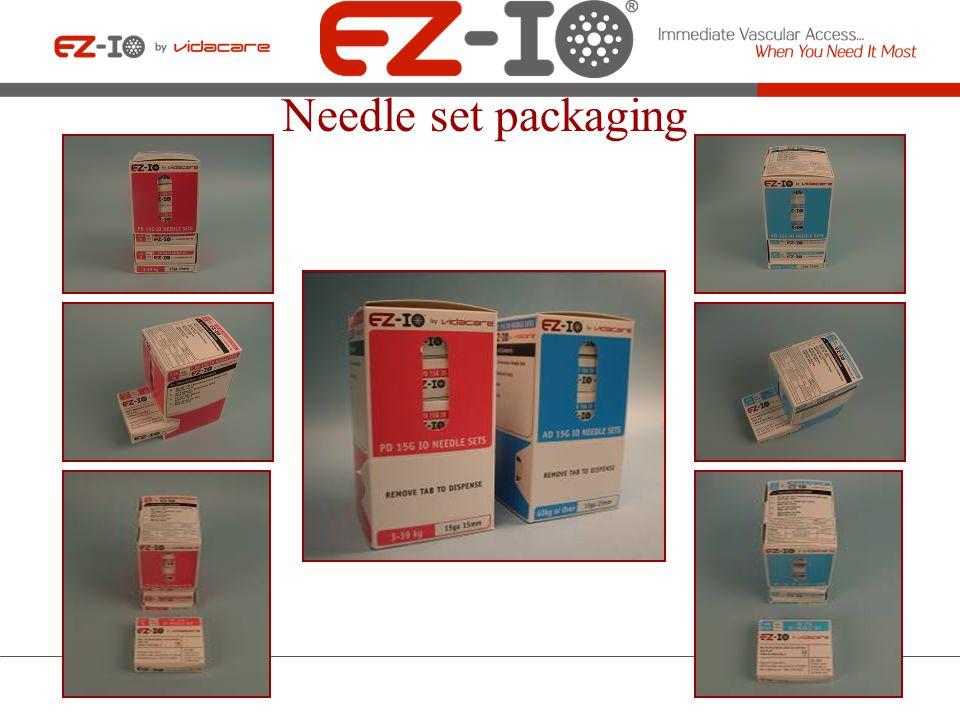 Needle set packaging