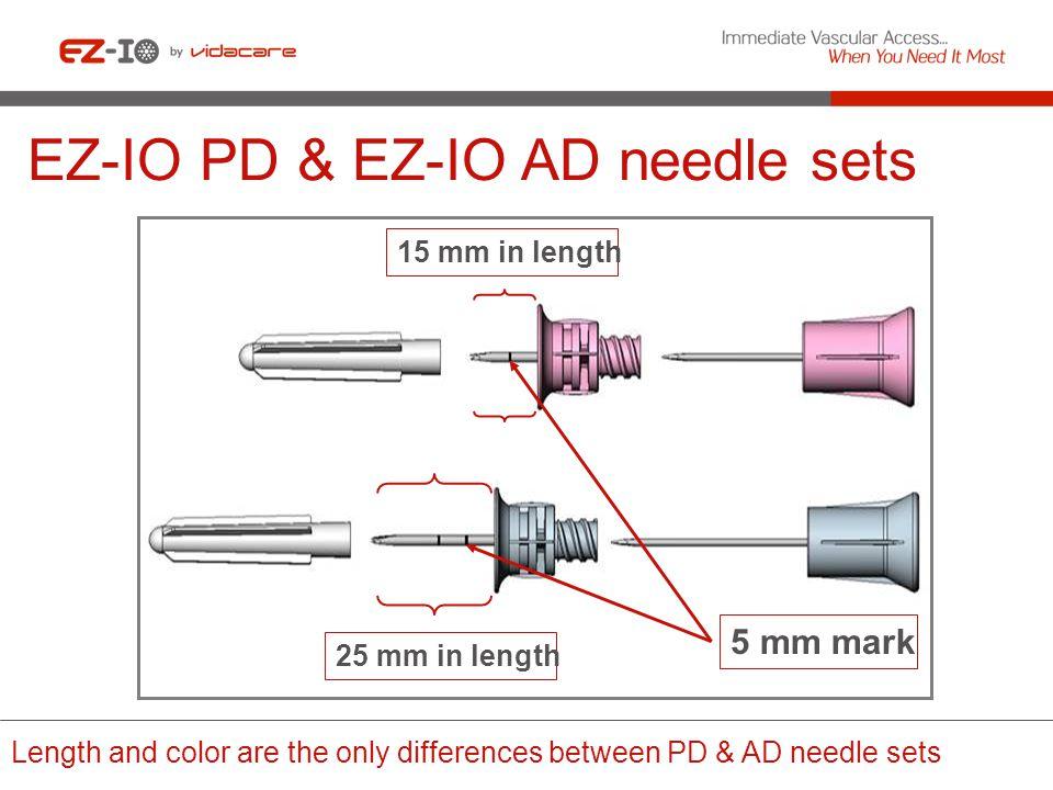 EZ-IO PD & EZ-IO AD needle sets