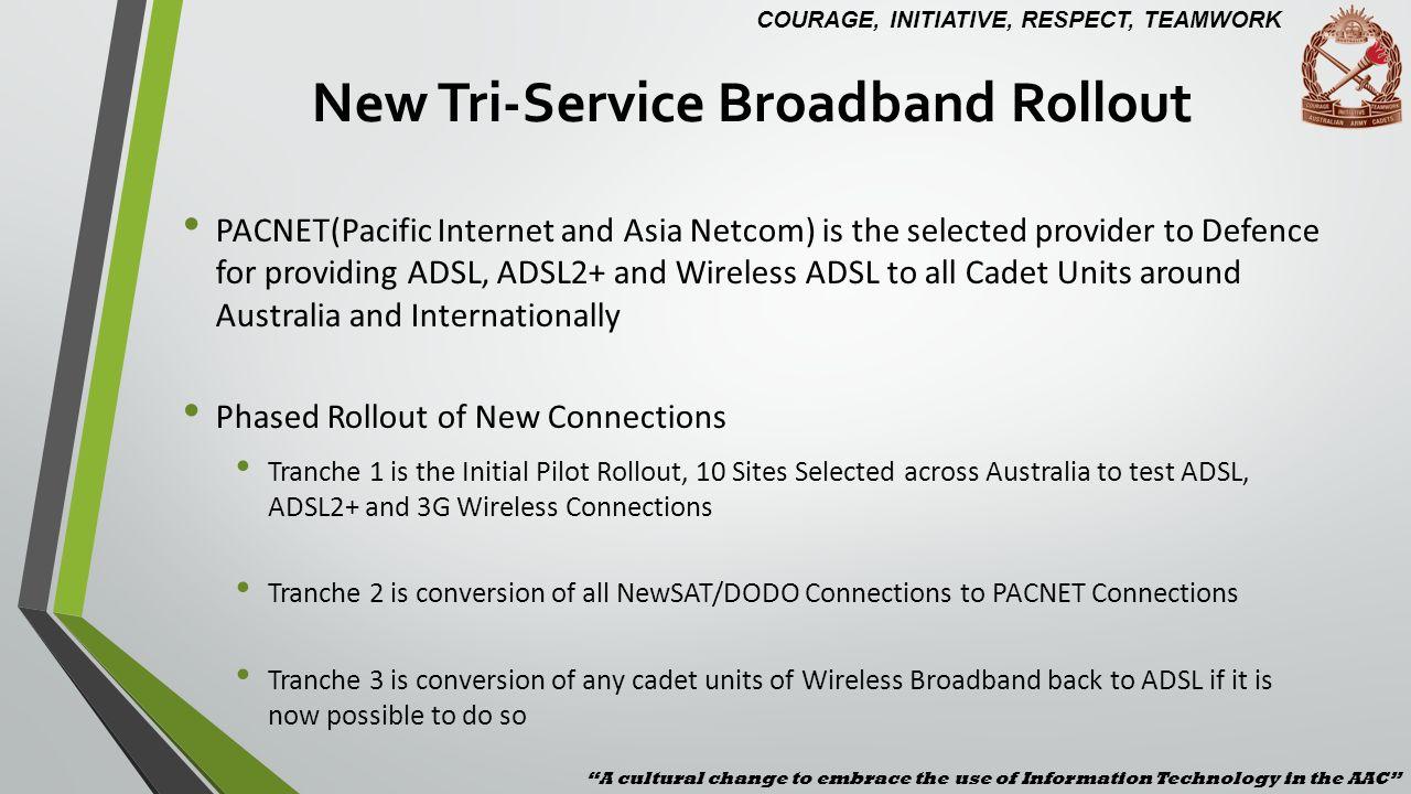 New Tri-Service Broadband Rollout