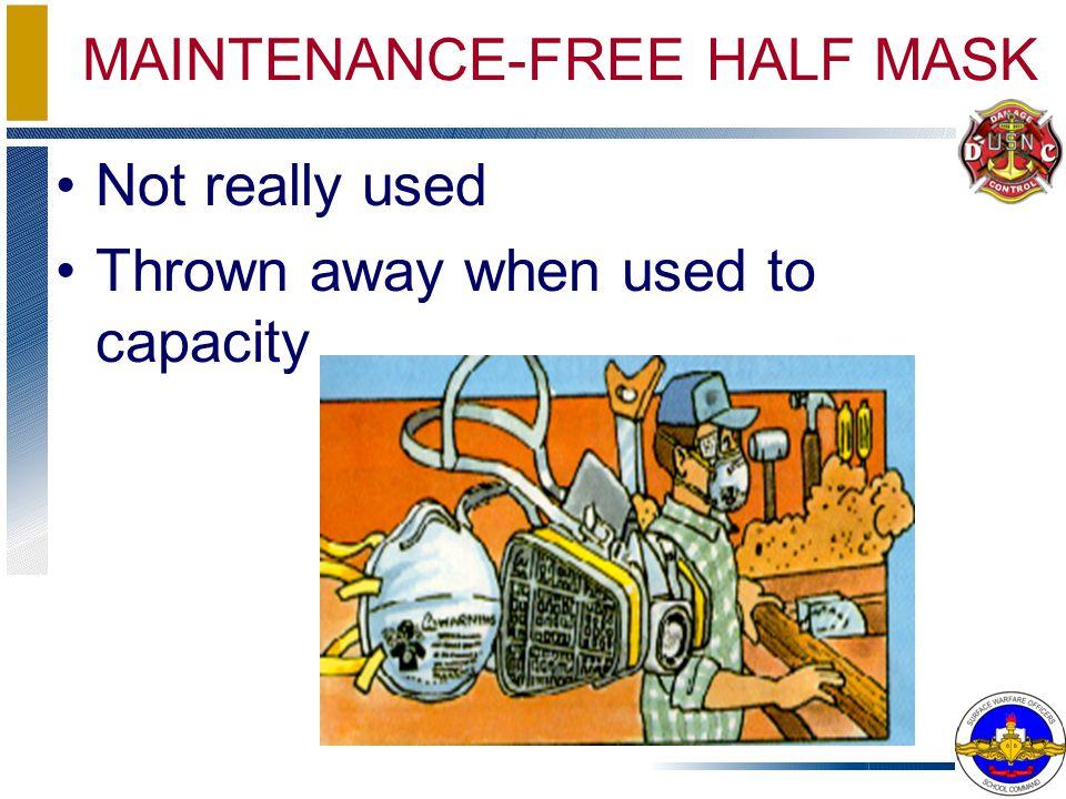 MAINTENANCE-FREE HALF MASK