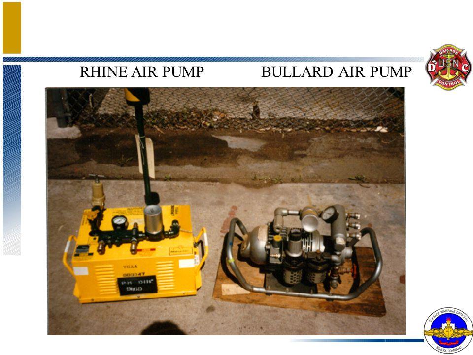 RHINE AIR PUMP BULLARD AIR PUMP