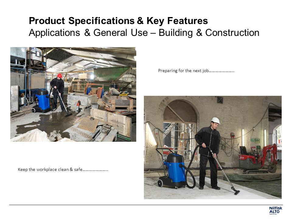 Product Specifications & Key Features Applications & General Use – Building & Construction