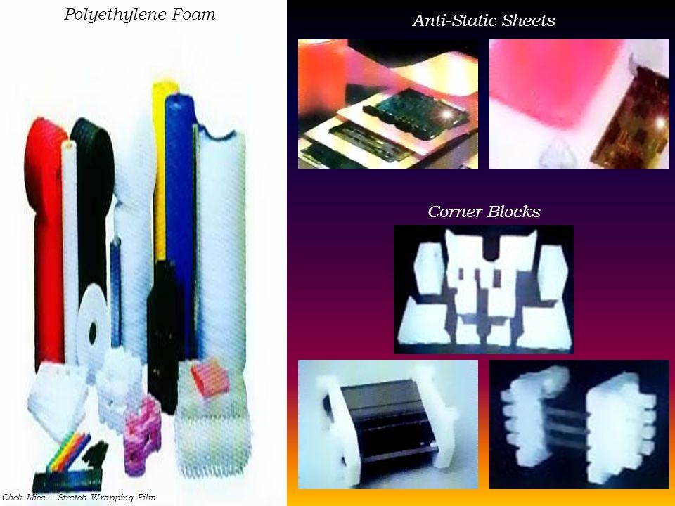 Polyethylene Foam Anti-Static Sheets Corner Blocks