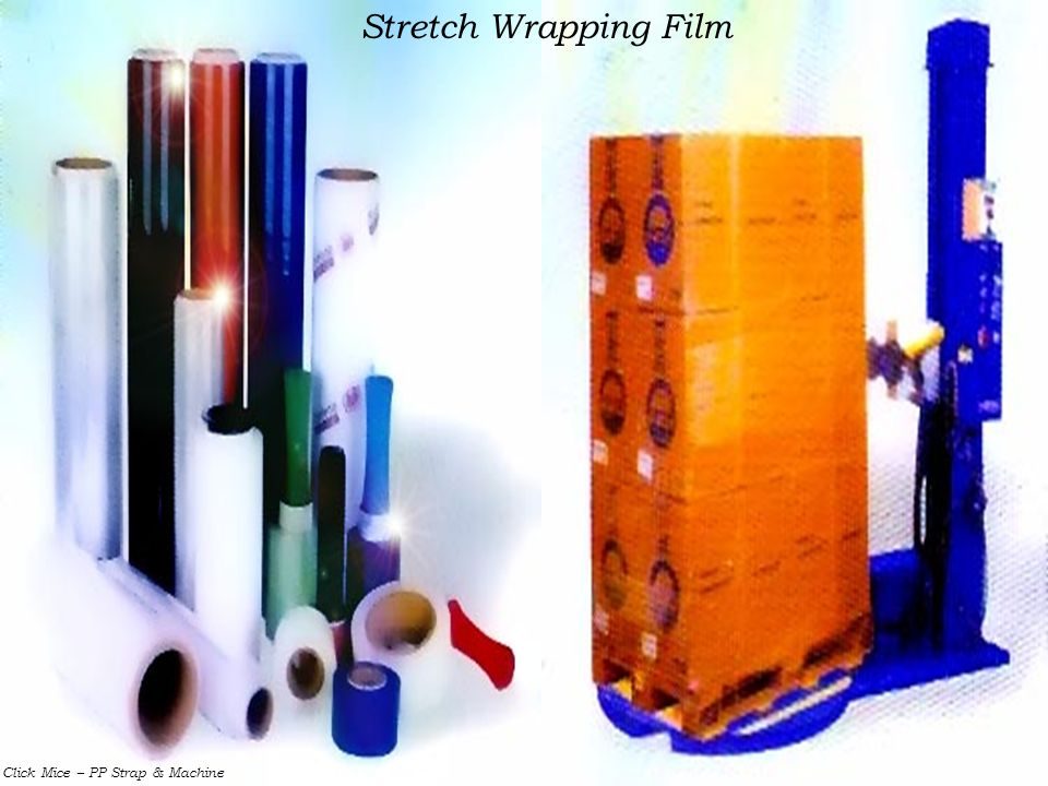 Stretch Wrapping Film Click Mice – PP Strap & Machine