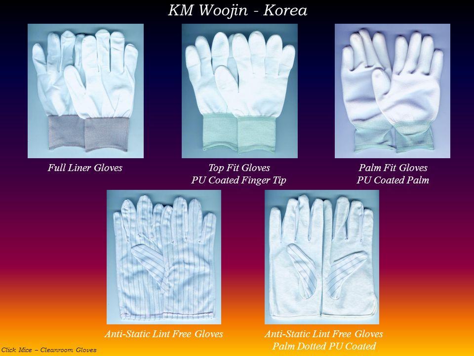 KM Woojin - Korea Full Liner Gloves Top Fit Gloves