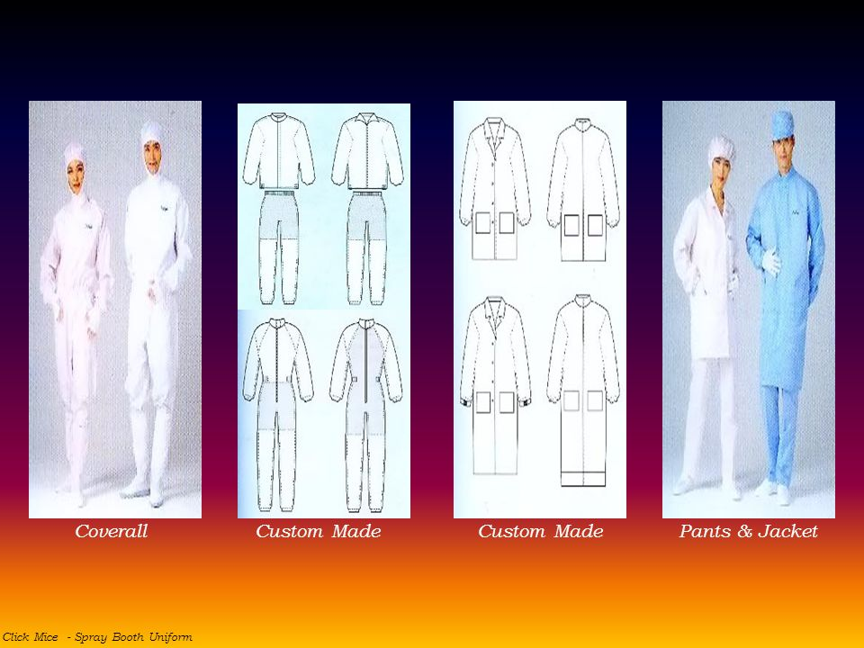Coverall Custom Made Custom Made Pants & Jacket