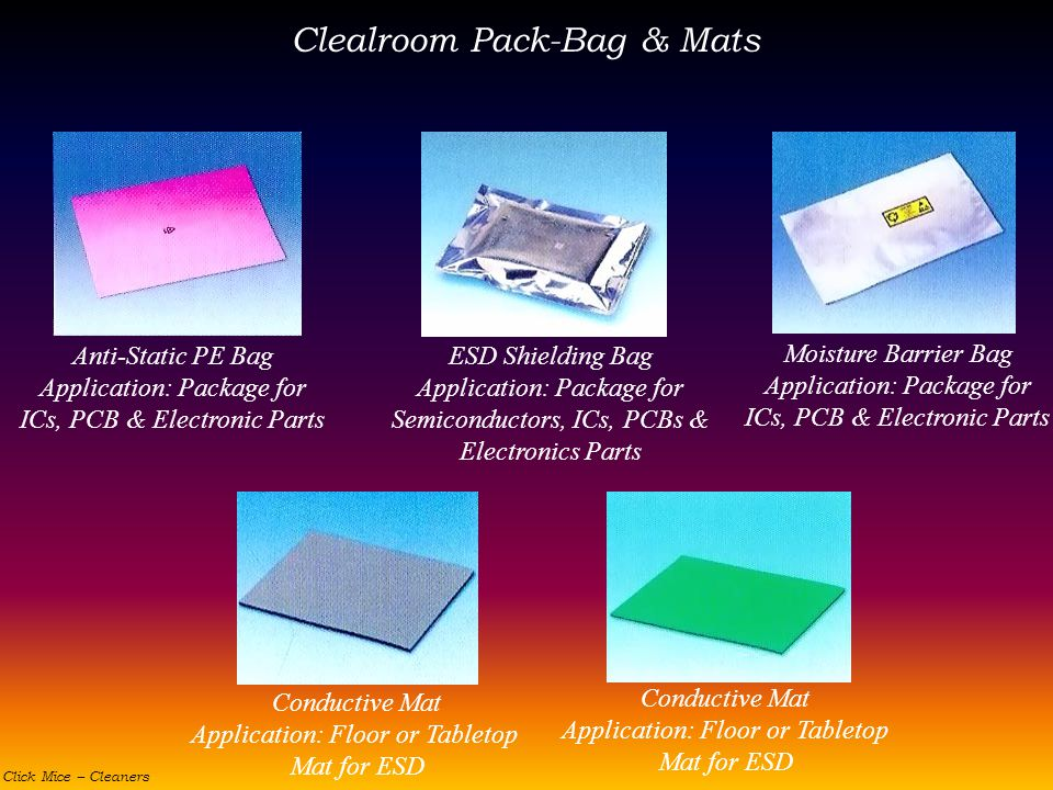 Clealroom Pack-Bag & Mats