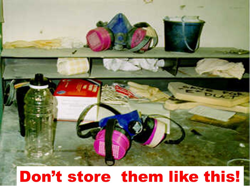 Don't store them like this!