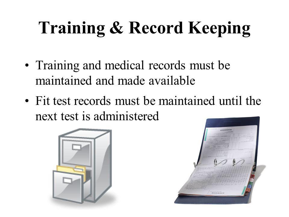 Training & Record Keeping