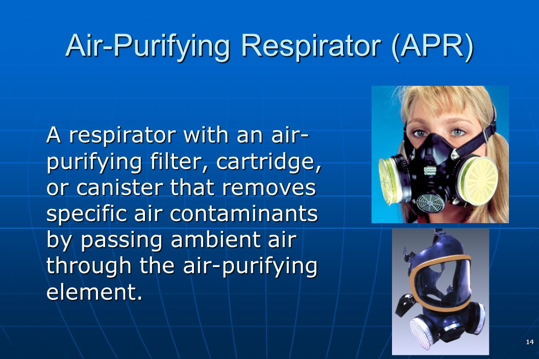 Air-Purifying Respirator (APR)