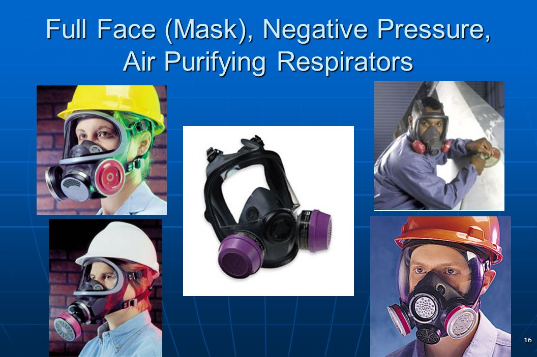Full Face (Mask), Negative Pressure, Air Purifying Respirators