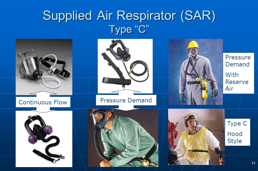 Supplied Air Respirator (SAR) Type C