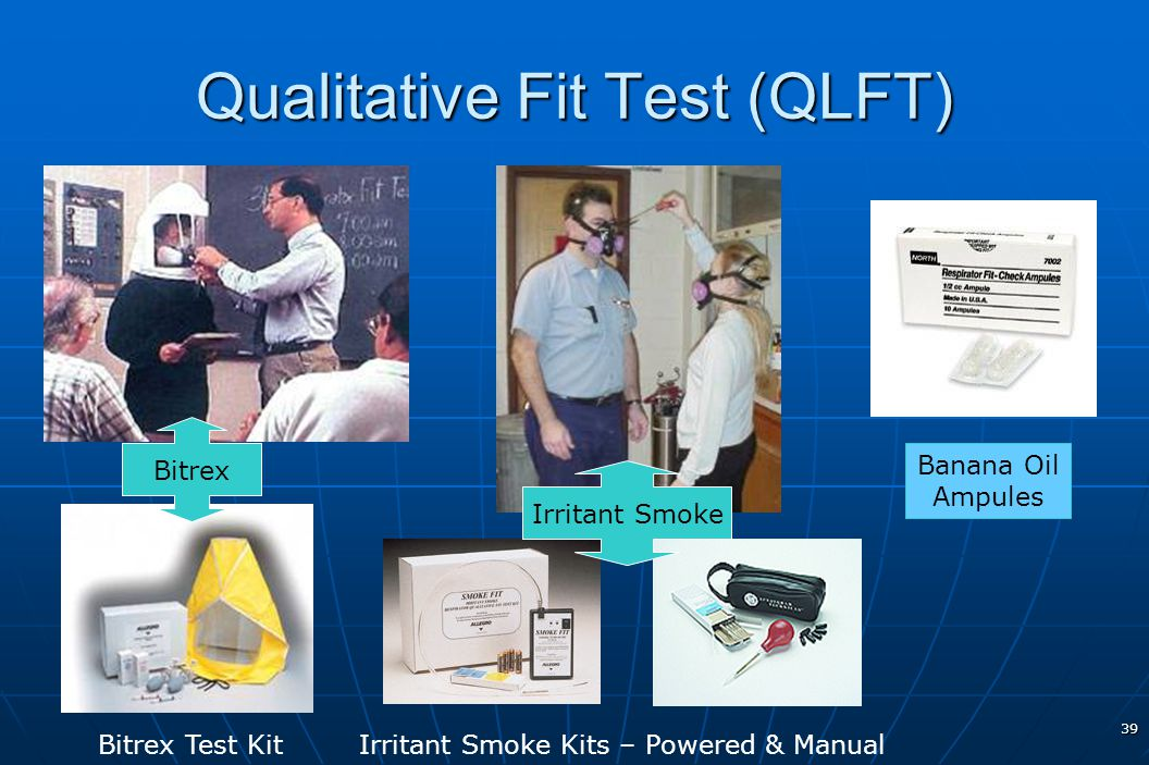 Qualitative Fit Test (QLFT)