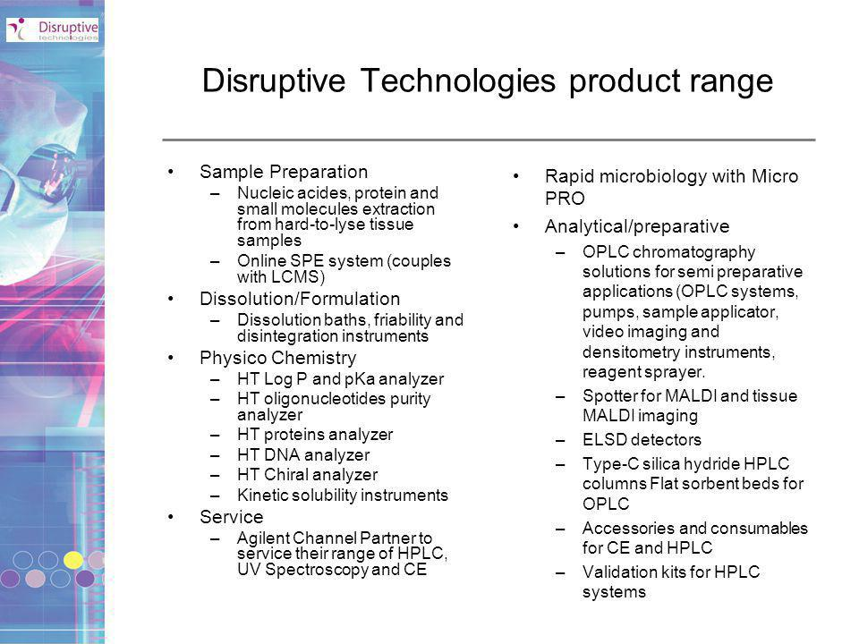 Disruptive Technologies product range