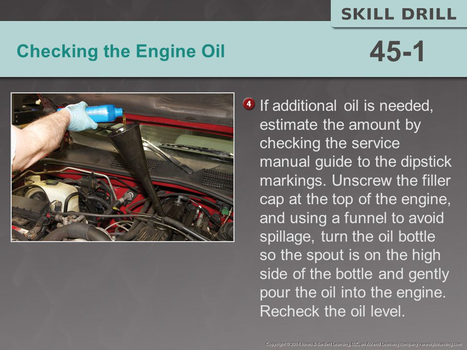 Checking the Engine Oil