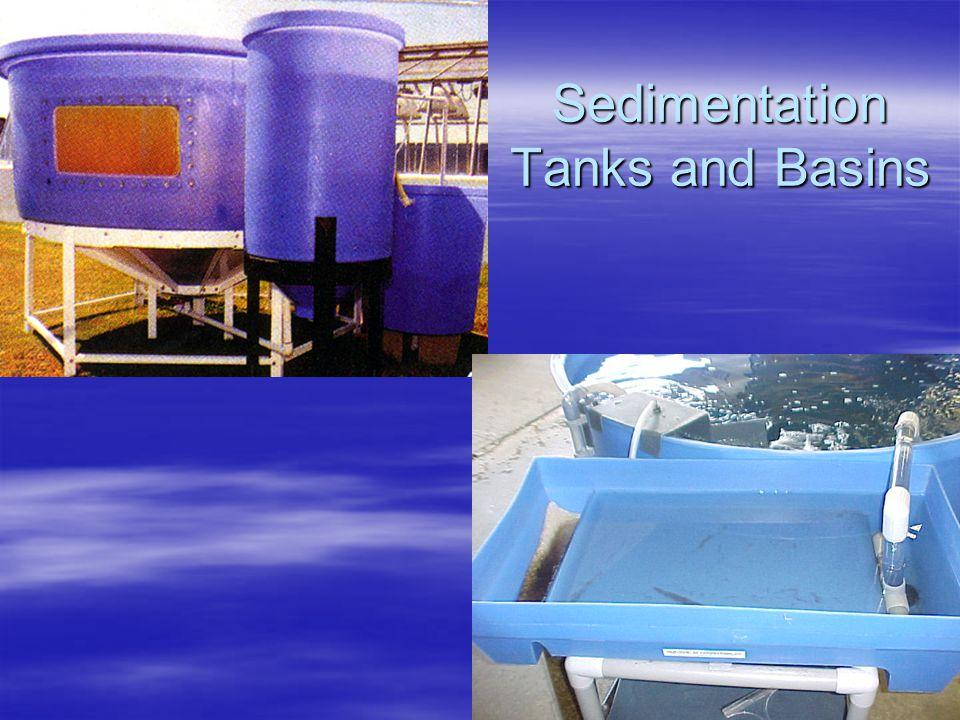 Sedimentation Tanks and Basins