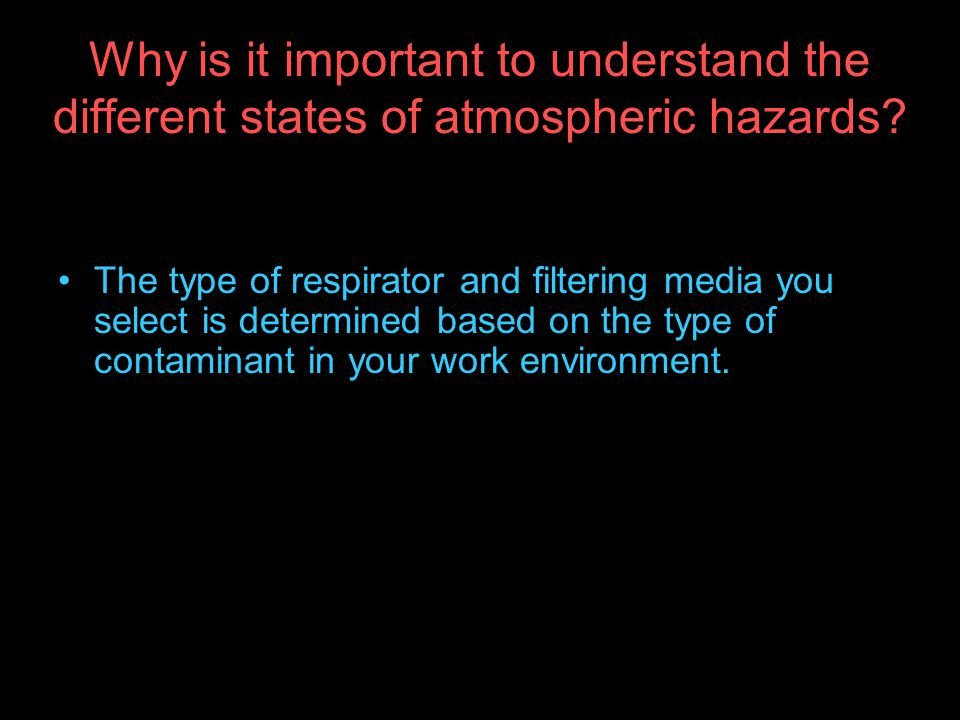 Why is it important to understand the different states of atmospheric hazards