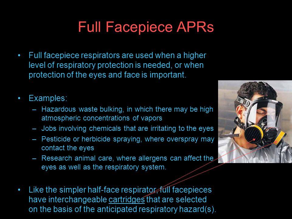 Full Facepiece APRs