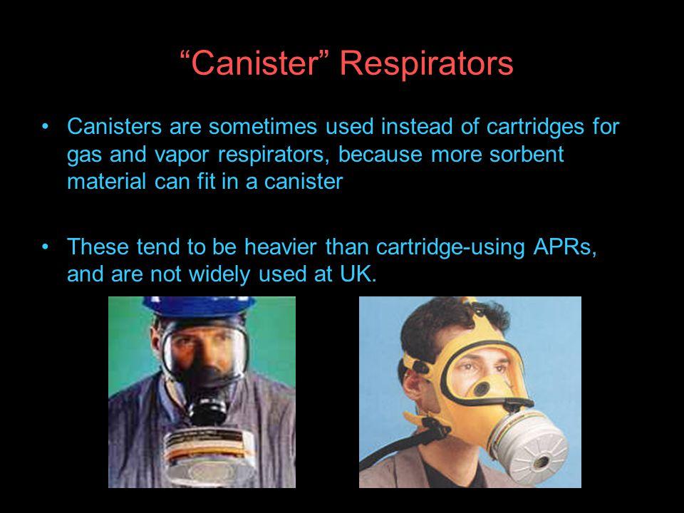 Canister Respirators
