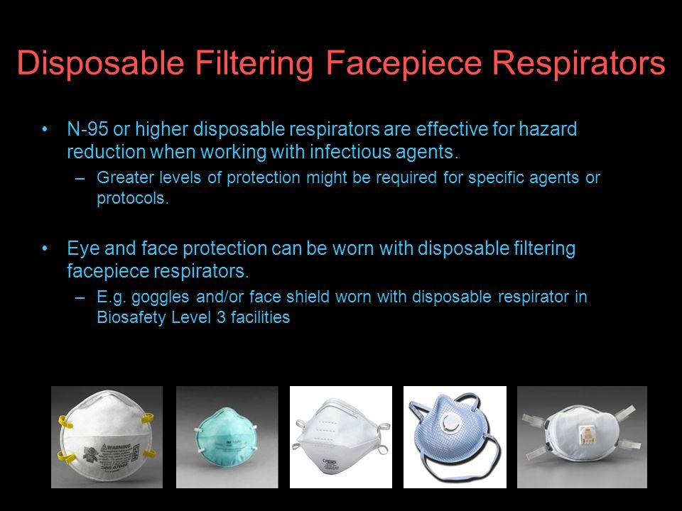 Disposable Filtering Facepiece Respirators