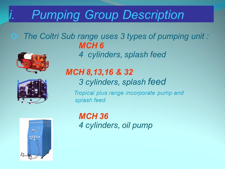 i. Pumping Group Description