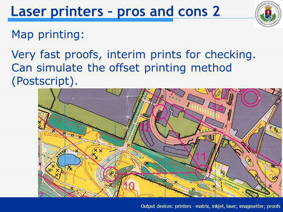 Laser printers – pros and cons 2