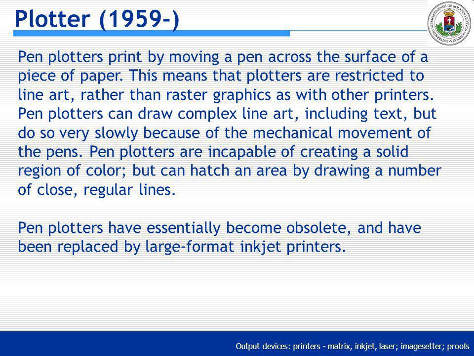 Plotter (1959-)