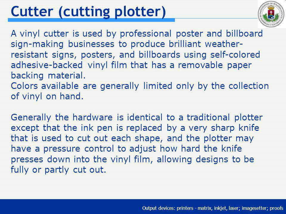 Cutter (cutting plotter)