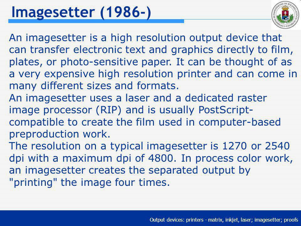 Imagesetter (1986-)