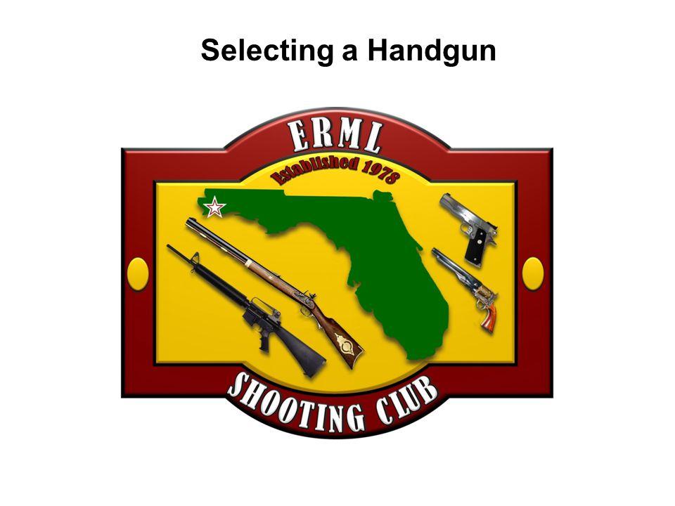 Selecting a Handgun