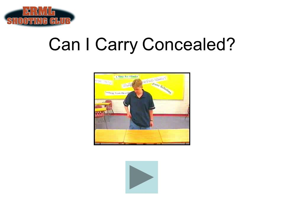 Can I Carry Concealed