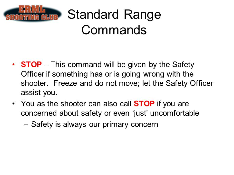 Standard Range Commands