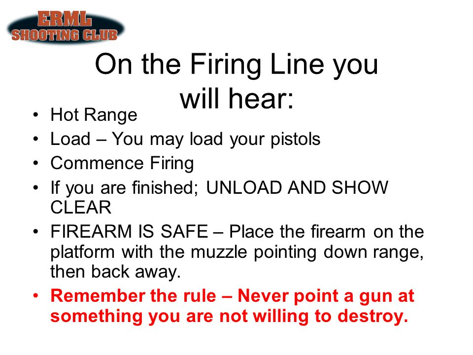 On the Firing Line you will hear: