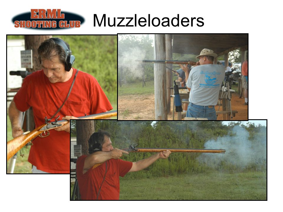 Muzzleloaders 1st Saturday of each month