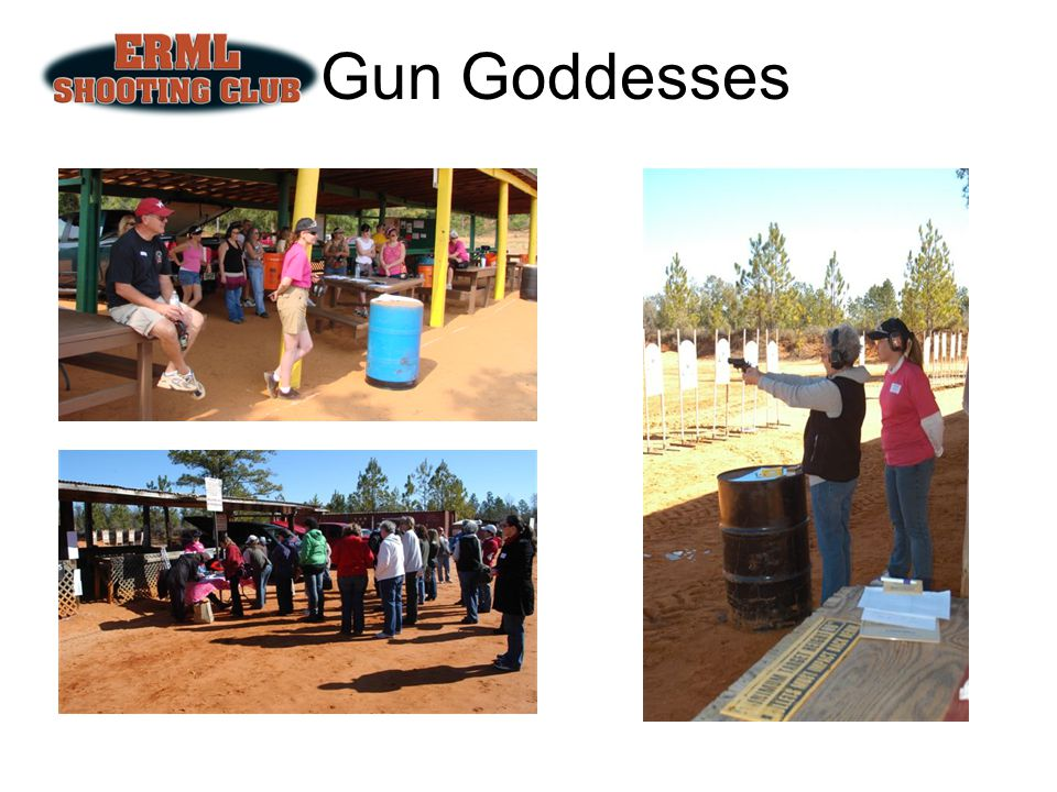 Gun Goddesses 2nd Saturday every other month (2011 Dates: August 13, October 8, December 10)