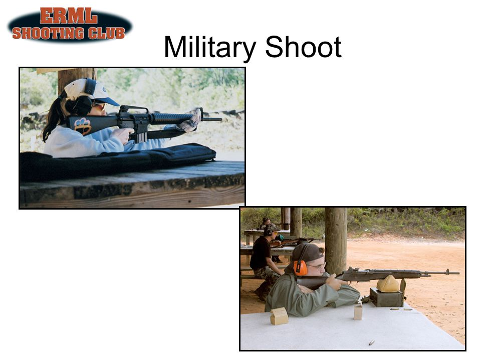 Military Shoot 5th Sunday of each month